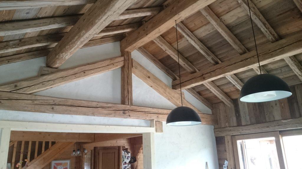 Rénovation intérieure vieux bois